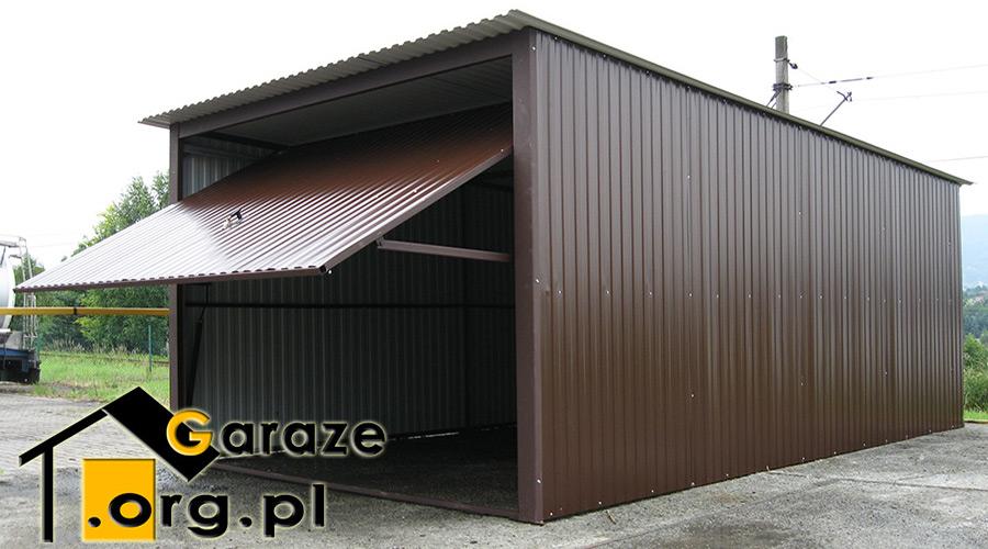 Nowoczesna architektura Garaże blaszane od producenta, blaszaki - Producent Stalgar HQ44