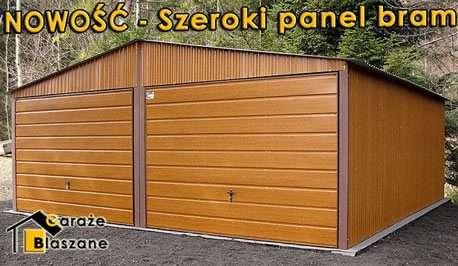 Wspaniały Producent garaży blaszanych: blaszaki tanio, garaże metalowe AE89